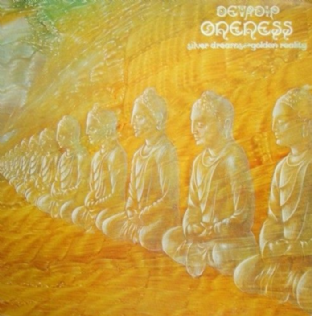 Devadip Carlos Santana - Oneness, Silver Dreams, Golden Reality (LP) (G+/G)